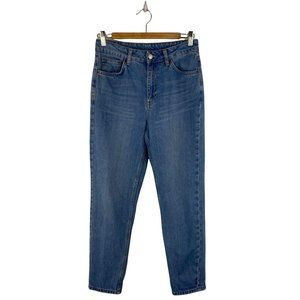 TOPSHOP Moto Light Wash Jeans Tapered Fit
